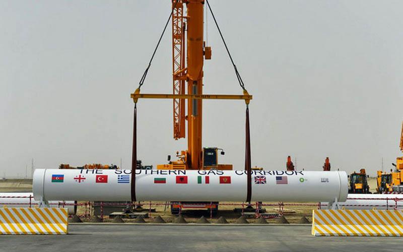 راهاندازی پروژه خط لوله گازی آذربایجان به ترکیه