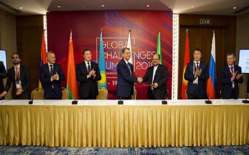 هدفگذاری برای تجارت ۸ میلیارد دلاری با اتحادیه اقتصادی اوراسیا