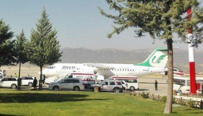 پروازهای فرودگاه یاسوج ازسرگیری شد