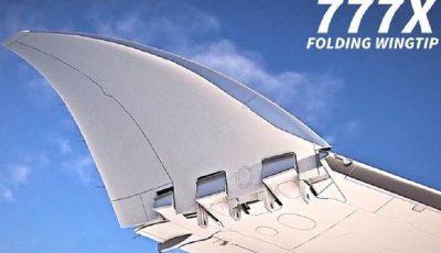 بوئینگ هواپیمایی با بالهای تاشونده میسازد