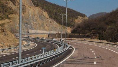 پیشرفت ۹۱ درصدی قطعه اول آزادراه تهران–شمال