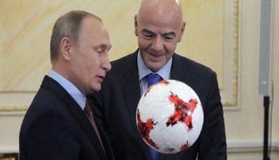 پوتین قهرمان جام جهانی ۲۰۱۸ روسیه را پیشبینی کرد