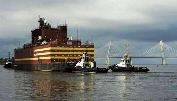 روسیه از اولین نیروگاه هستهای شناور رونمایی کرد