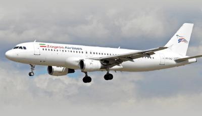 نقص فنی در هواپیمای شرکت زاگرس