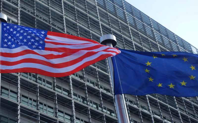 تجارت اروپا با آمریکا افزایش یافت