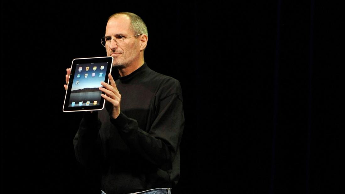 صنعت کامپیوتر شخصی مرده آیپد استیو جابز iPad Steve Jobs