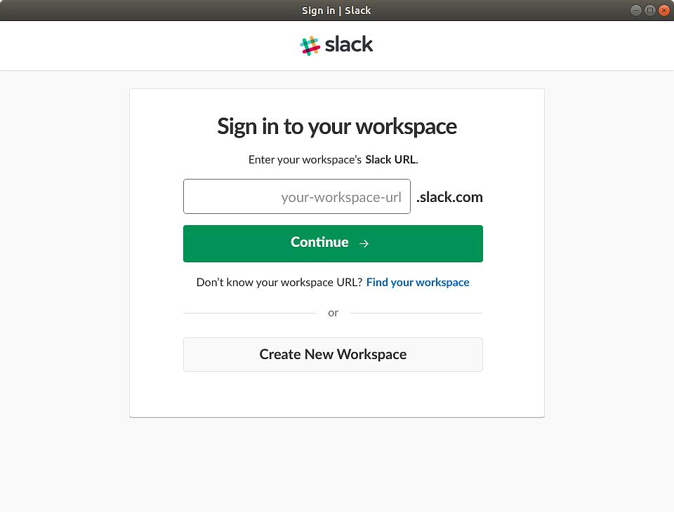 نرمافزارهای اوبونتو اسلک Slack