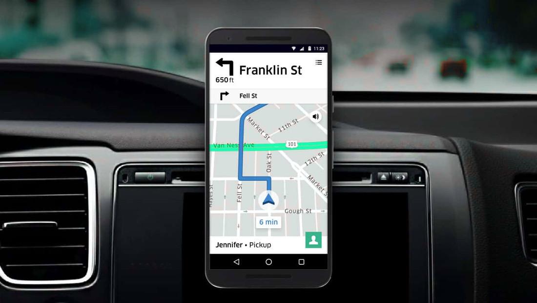 فناوری رفتار اپلیکیشن رانندگان اوبر