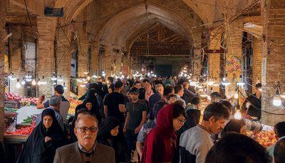 بازار بزرگ زنجان در تعطیلاتی که گذشت ( گزارش تصویری)