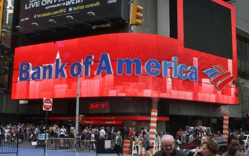 ساختمان بانک آمریکا به دلیل احتمال حمله تروریستی تخلیه شد