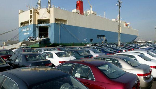 مالیات ۲٫۵ هزار میلیارد تومانی واردکنندگان خودرو طی یک سال