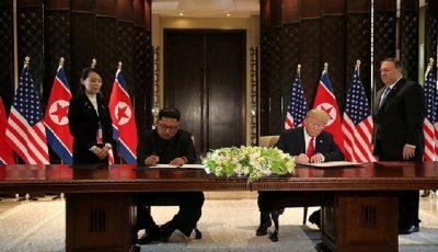 ترامپ و اون سند جامع امضا کردند