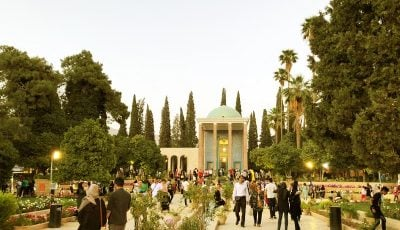 جولان صنایع دستی چینی در میراث شیراز