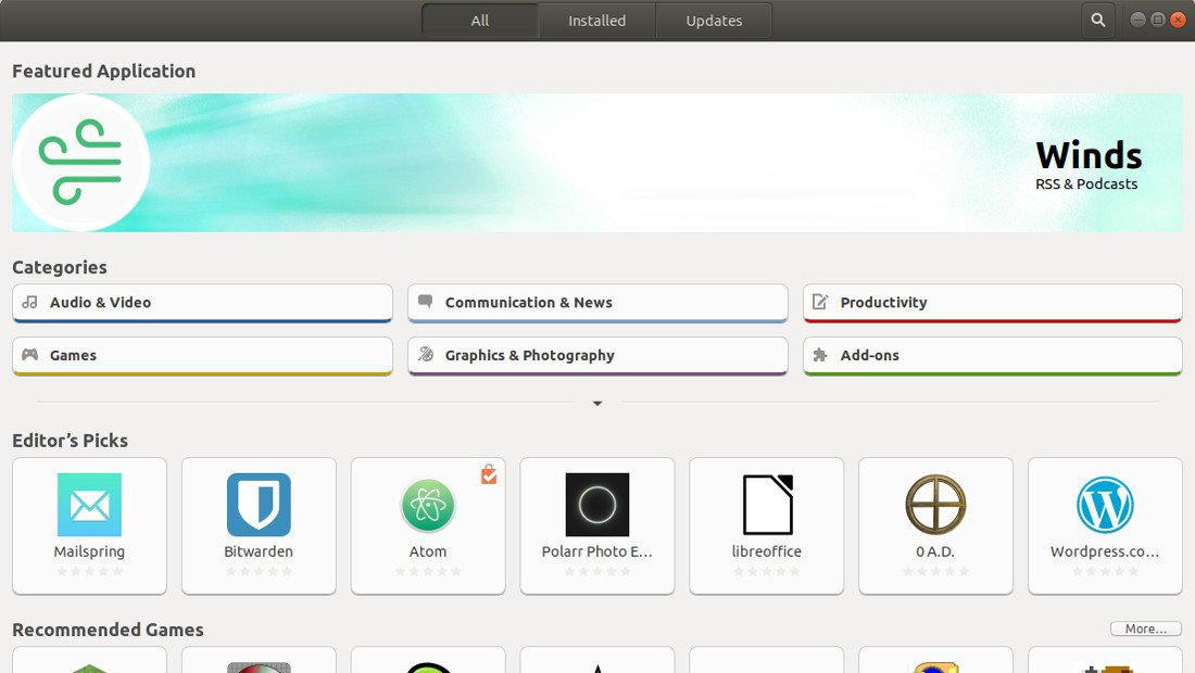 Ubuntu Software Center نرمافزارهای اوبونتو