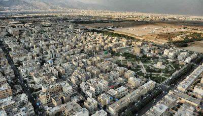 گسترش محدوده فرونشست در شهر تهران