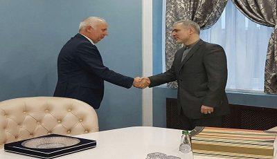 توسعه همکاریهای حملونقلی در دیدار سفیر کشورمان با وزیر حملونقل بلاروس