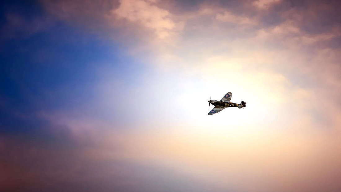 جانبداری نجاتیافتگان هواپیمای اسپیتفایر spitfire