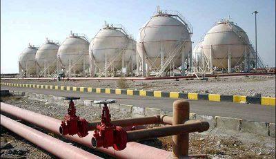 ارزش ۷ میلیارد یورویی منابع گازی کشور