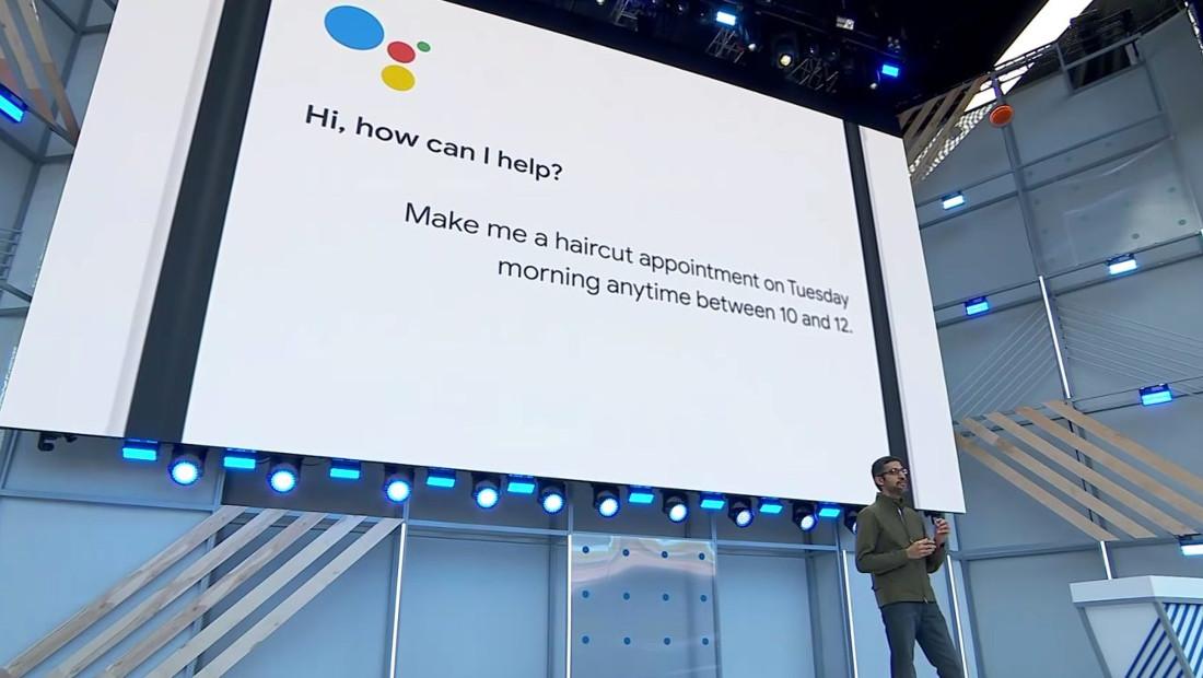 فناوری رفتار معرفی گوگل داپلکس Google Duplex در گوگل I/O