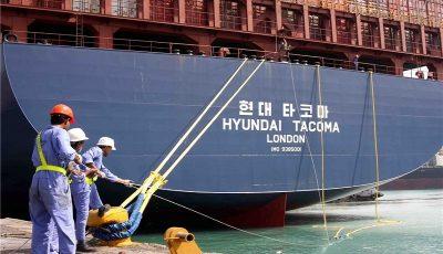 شرکت کشتیرانی هاپاگ لوید آلمان فعالیت خود در ایران را کاهش داد