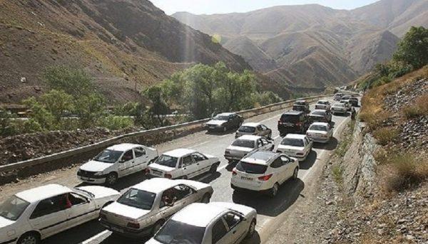 راهبندان در مسیرهای ورودی به تهران