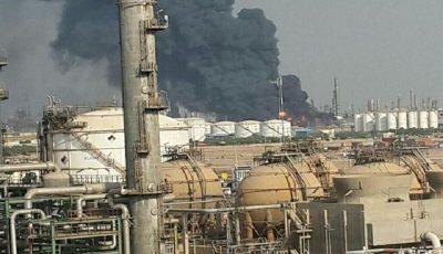 6 مصدوم در آتشسوزی پتروشیمی آبادان گزارش شده است