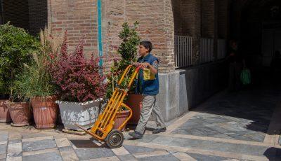 چرخ به دستان بازار تهران به روایت تصویر