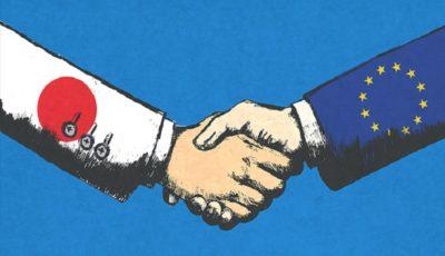 اتحادیه اروپا و ژاپن بزرگترین توافق آزاد تجاری را امضا کردند