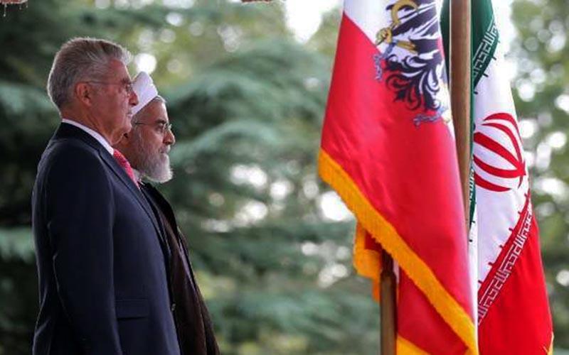 ایران و اتریش با تحریمهای آمریکا مقابله میکنند