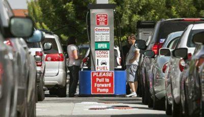 قیمت بنزین در آمریکا به بالاترین میزان ۵ سال گذشته رسید