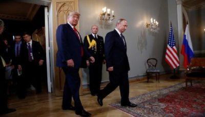 آغاز دیدار مهم ترامپ و پوتین در هلسینکی