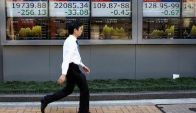 افت سهام آسیایی با انتشار دادههایی در مورد کاهش رشد اقتصادی چین