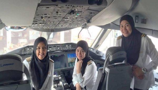 نخستین خلبانان زن عربستانی بهزودی آموزش میبینند