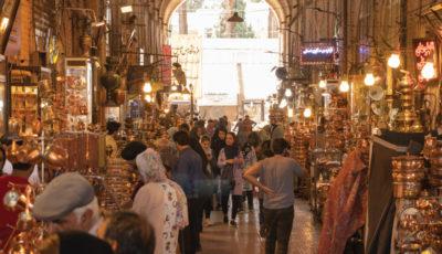بازار مسگرهای اصفهان/بالاخره یک بازار پر رونق پیدا شد(گزارش تصویری)