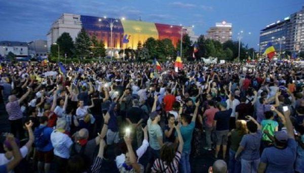 تظاهرات مجدد در رومانی در اعتراض به فساد دولتی