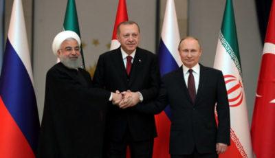 محورهای نشست رؤسای جمهور روسیه، ترکیه و ایران در سوچی