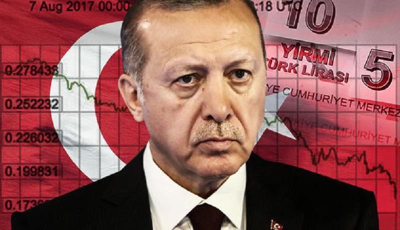 لیر ترکیه باز هم سقوط کرد