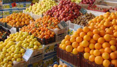 ثبات نسبی در قیمت میوه و صیفیهای پرمصرف