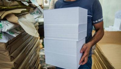 دفترهای مشق در بنبست تامین کاغذ