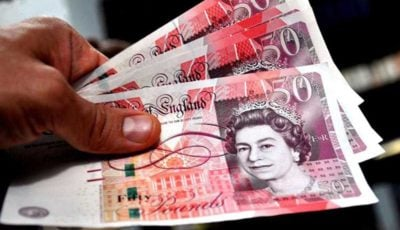 نرخ پوند انگلیس ۱ درصد جهش کرد