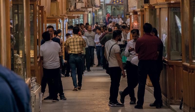 مشتریها برگشتند مغازهداران هنوز نه (گزارش تصویری)