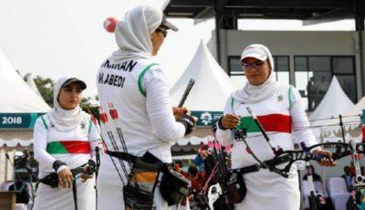 راهیابی تیم کامپوند زنان به مرحله یک چهارم