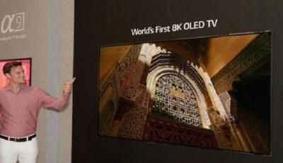 رونمایی از نخستین تلویزیون اولد ۸K در جهان