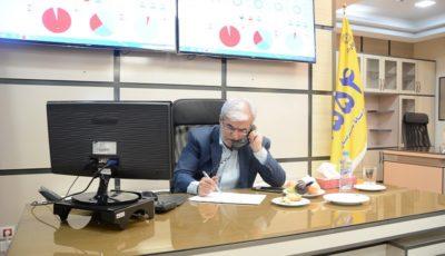 ارتباط مستقیم رییس هیات مدیره بانک تجارت با مشتریان