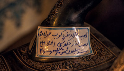 مجسمه اسب در اصفهان؛ 20 میلیون تومان + عکس