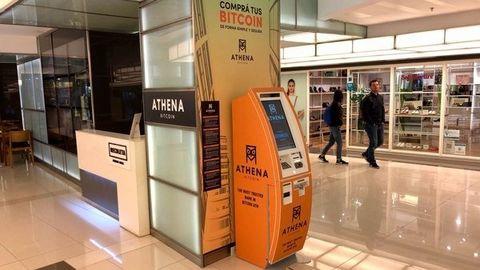 نصب اولین خودپرداز ارز رمزنگار در آرژانتین