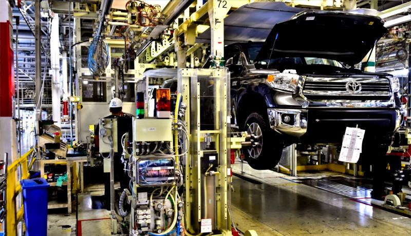 اقتصاد ژاپن خط تولید تویوتا