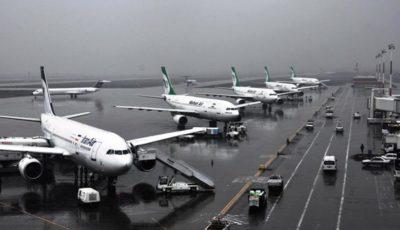آخرین وضعیت تحریم هواپیماییهای ایران