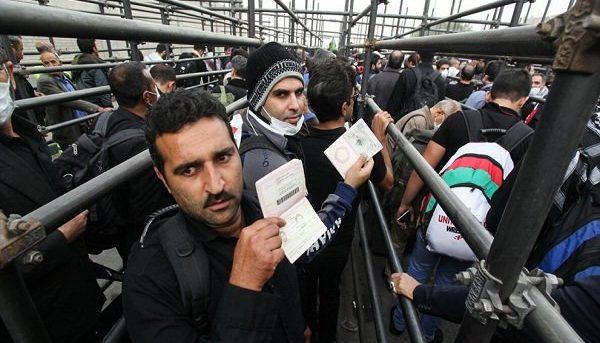 افزایش ۶۵ درصدی ورود مسافران عراقی از مرز مهران به داخل کشور