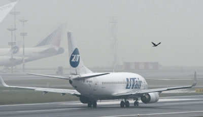 هواپیمای مسافربری در «سوچی» آتش گرفت